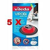 5 x Vileda 136132 ViRobi-Roboter (Nachfüllpackung 5 Stück = 100) refill