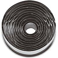 Paderno Tagliapasta ad anello / Set di 11 Coppapasta rotondi in acciaio inox, ideali in pasticceria e per impiattamenti creativi, 3 cm di altezza, diametro anelli da 2 cm ø a 9 cm ø