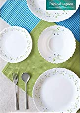 Cello Tropical Lagoon 37 Pcs Dinner Set