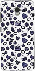 The Racoon Lean printed designer hard back mobile phone case cover for Lenovo Vibe P1. (Pruscian P)