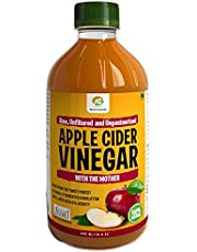 NutrineLife Pure and Natural Apple Cider Vinegar ACV with M