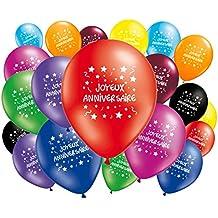 Amazon Fr Ballon Joyeux Anniversaire