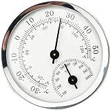 ULTECHNOVO Higrómetro Termómetro Temperatura Interior Sensor de Humedad Monitor Detector Medidas para Casa Garaje Invernadero