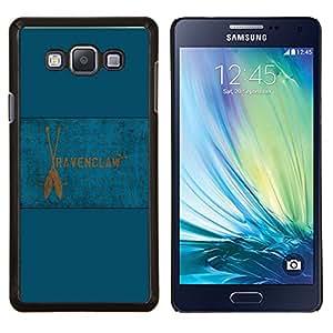 Drapeau Serdaigle - Aluminium Metal & plastique dur Cas de téléphone - Noir - Samsung Galaxy A7 / SM-A700