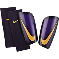 Nike Mercurial Lite Espinilleras, Unisex adulto, Morado (Hyper Grape / Court Purple / Bright Citrus), XS