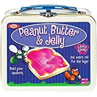 POOF-Slinky 0X4264 Ideal Erdnussbutter und Gelee Card Game mit Mini Collectible Tin Lunch Box Lagercontainer, 54-bunt illustrierten Karten