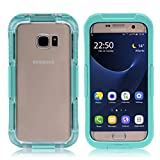 Galaxy S7 Edge Wasserdichtes Schutzhülle, iThrough™ Galaxy S7 Edge Wasserdichte Hülle, Staubdicht, Schnee Verteidigung, Stoßfest Hülle Schutzfolie Tragende Schutzhülle für Galaxy S7 Edge