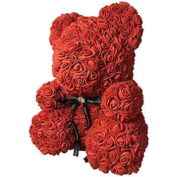 EdBerk74 Transparent Bo/îte Cadeau Vide pour Artificielle Nounours Rose Fleur Cadeaux Bo/îte Femmes en Peluche Ours Lapin Cadeau