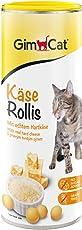 GimCat Käse-Rollis | vitaminreicher Katzensnack mit echtem Hartkäse | ohne Zuckerzusatz