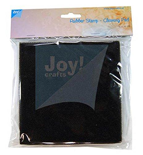 (Joy!Crafts Rubber Stamp - Cleaning Pad, Stempelreiniger Kissen auf stabilem Träger, Größe ca. 15 cm x 15 cm x 1,8 cm)