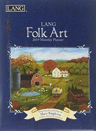 Lang Folk Art 2019 Monthly Pocket Planner por Lang Holdings Inc.
