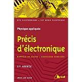 Précis d'électronique : Sections de technicien supérieur, IUT