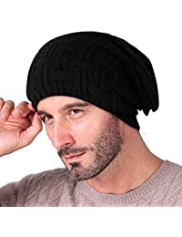 Knotyy Beanie Caps, Woolen Caps, Knitted Slouchy Caps, Skull Cap for Men & Women