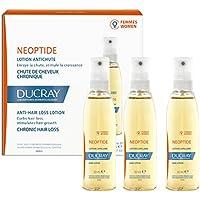 Ducray Neoptide - Loción Anticaida Crónica Para Mujeres, 3 Frascos De 30 Milliliter