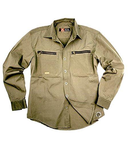 La chemise Kakadu Traders Australia Schofield, 8MS10 Gris