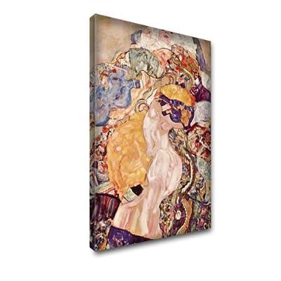 """""""Klimt Sammlung 1"""", Kunstdrucke Leinwandbild Bild Malerei Wandbilder. Größe 16'' x 22'' - 40.5 x 56cm. Verschiedene Größe und Designs erhältlich."""
