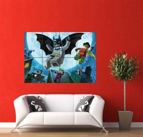 LEGO BATMAN GIANT WALL POSTER PLAKAT DRUCK PICTURE JM228