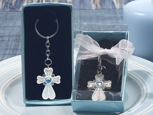 white-cross-keychain-with-blue-crystals-by-cassiani