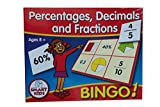 Percentages,Dec & Fractions Bingo