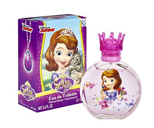 Disney, principessa sofia, eau de toilette, 100 ml