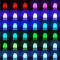 InnoBeta Dondidondy Süßes Wiederaufladbares tragbares LED-Farbwechsel-Stimmungs-Silikonnachtlicht (Dimmbar mit warmem weißem Licht + 256RGB-Licht) 2017 New Version mit einem abnehmbarer Hut, für Babys, Kinder und Erwachsene als Dekoration, Tischlampe,