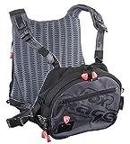 Fox Rage Voyager Tackle Vest, Angeltasche inkl. 2 Angelboxen/Tackleboxen, Anglertasche zum...