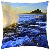 WAVE SPRAY - Throw Pillow Cover Case (18 x 18)