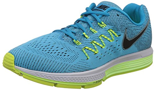 Nike Men's Air Zoom Vomero 10 Blue Lagoon, Black, Ghost Green and Volt Running Shoes -7 UK/India (41 EU)(8 US)  available at amazon for Rs.9097