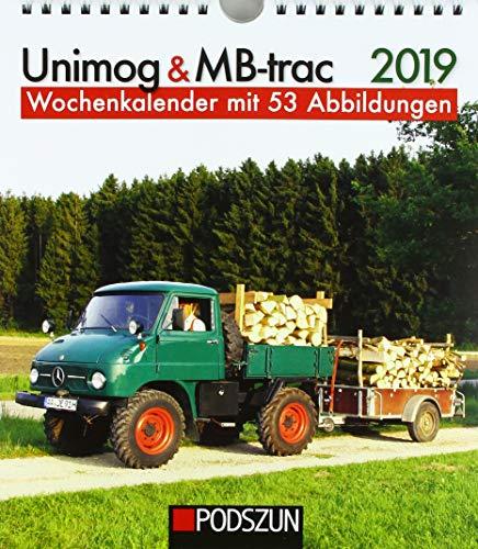 Unimog & MB-trac 2019: Wochenkalender mit 53 Fotografien