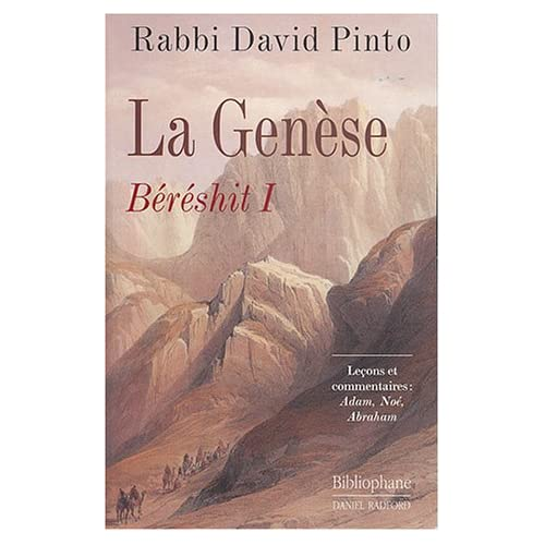 Genèse - Béréchit, tome 1
