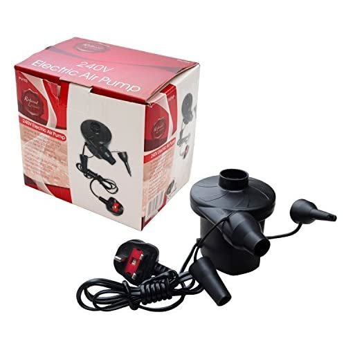 51EXR2sQ4hL. SS500  - Redwood Leisure Redwood BB-PU103 240v Electric Air Pump, Black