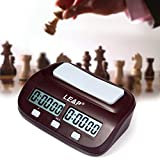 Elephantboat Leap Pq9907S Digital Chess Clock I-Go Count Up Down Timer For Game Competition
