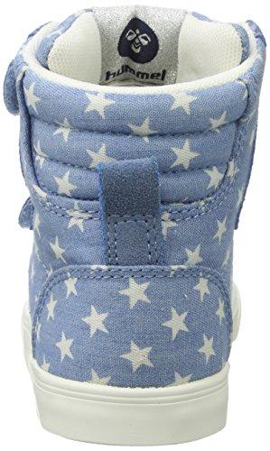 Hummel Slimmer Stadil Star Jr, Scarpe da Ginnastica Alte Unisex – Bambini Blu (Blue)