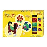 Hama 8712 - Gigantische Geschenkpackung, circa 900 Maxi-Bügelperlen, 2 Stiftplatten und Zubehör -