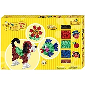 Hama 8712 Loisirs Créatifs Boîte Grand Modèle Perles à
