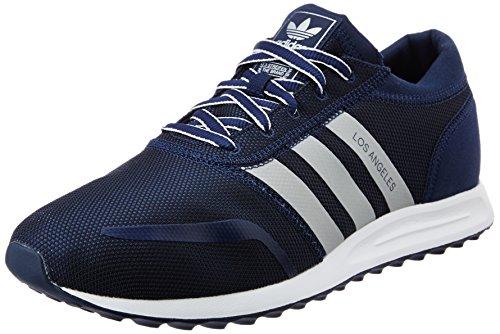 Adidas Los Angeles, Scarpe da Corsa Uomo, Multicolore (Conavy/Silvmt/Ftwwht), 44 2/3 EU