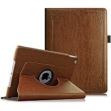 Fintie iPad Air 2 Funda - Giratoria 360 grados Smart Case Funda Carcasa con Función y Auto-Sueño / Estela para Apple iPad Air 2 (iPad 6th Generación 2014 Versión) 9.7 Inch iOS Tableta, Vintage Antique Bronze