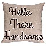 Couvre-oreillers au design unique Couvre-oreiller en liquidation, couvre-coussins de mots anglais, taie d'oreiller de style occidental pour un magasin de livre de canapé café (multicolore E)