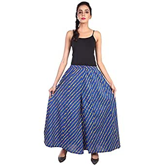 Jaipur skirt women 39 s regular fit new fashionable cotton for Divider skirt images