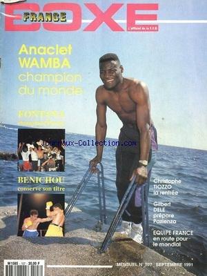 FRANCE BOXE [No 103] du 01/04/1991