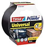 Tesa 56348-00001-05 Nastro americano UNIVERSALE Extra Power 10m x 50mm nero