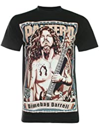 PALLAS Men's Dimebag Darrell Pantera Metal Rock T-Shirt