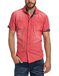 Timezone Shortsleeve Shirt, Chemise de Loisirs Homme