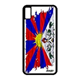 utaupia Coque pour iPhone XS Max Silicone Drapeau Tibet tibetain en Made in France...