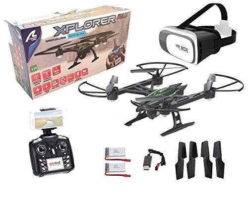Drone radiocontrol con camara Xplorer Wifi FPV + Gafas VR. Pilota como...