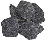 (1,17 € / kg) Aufguss Saunasteine 20 kg vorgewaschene Premium Olivin-Diabas Steine für Sauna Ofen