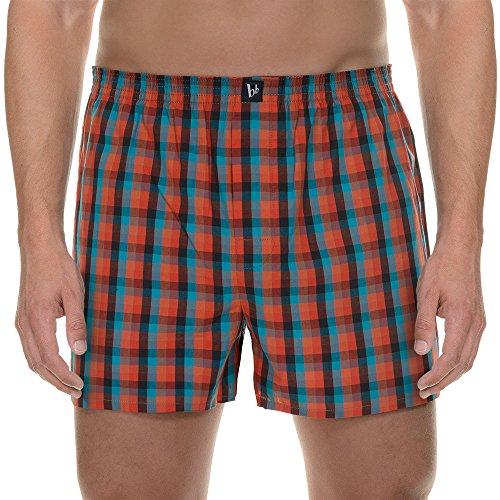 bruno-banani-mens-boxershort-good-deed-boxer-shorts-red-rot-hummer-blau-orange-karo-2034-xl