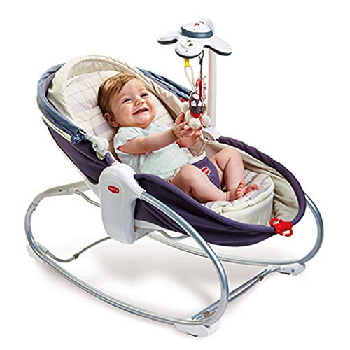Tiny Love 22218017 Cozy Rocker Napper Sdraietta, Grigio