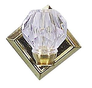 Kahlert 10.310 luz - Muñeca Mini Accesorios - Lámpara de Pared de Cristal de la Pantalla