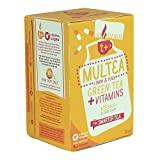 T Plus - Multea Lemon & Peach Green Tea + Vitamins - 30g